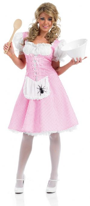 Miss Muffet ladies plus size fancy dress costume